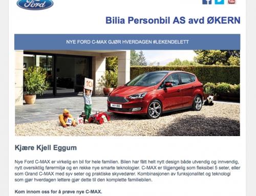 Målrettet markedsføring fra Bilia?